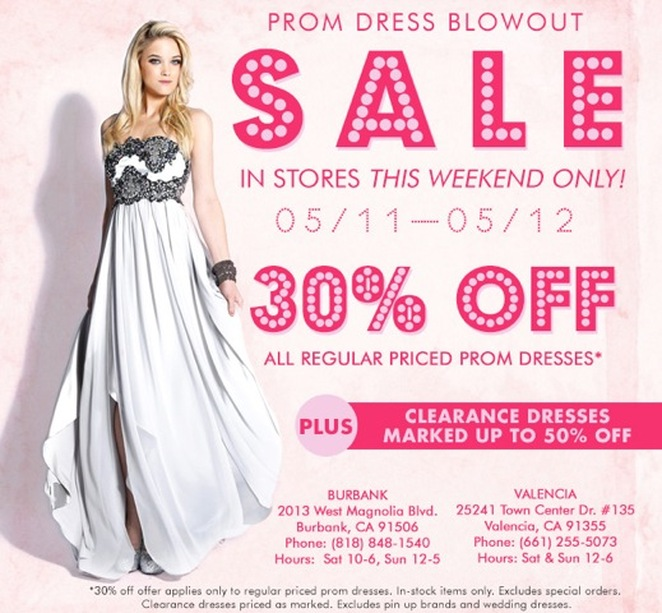 Unique Vintage Is Having A Huge Prom Dress Blowout Sale In Stores ...