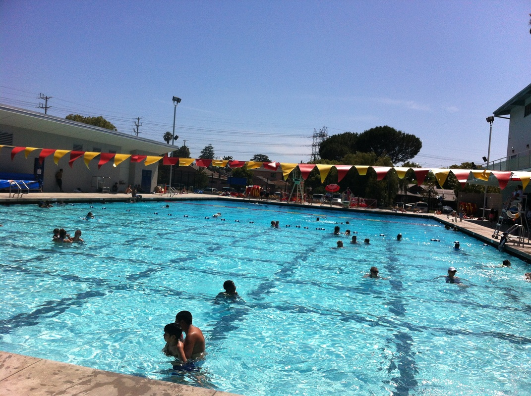 We Gave The Verdugo Pool A Try Today Burbank Mom
