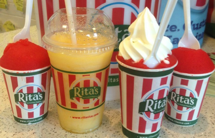 Get a cool treat and make a difference at Rita's Italian Ice
