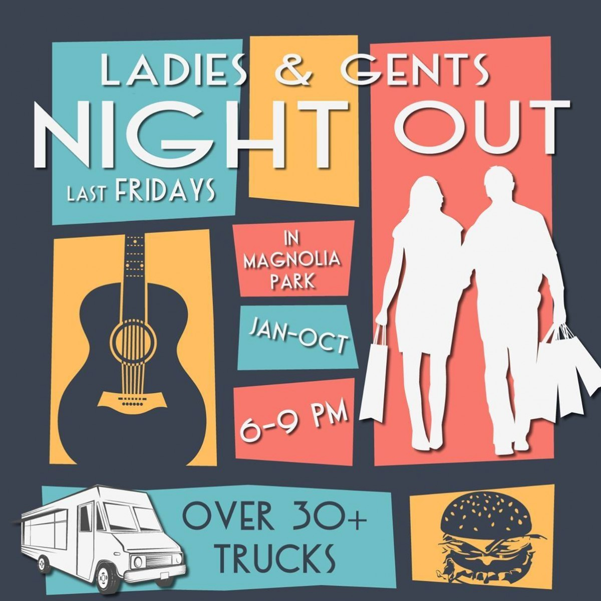 Ladies & Gents Night Out @ Magnolia Park Burbank