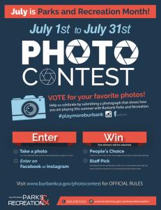 #PlayMoreBurbank Parks & Rec Photo Contest