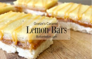 Goetzes Caramel Lemon Bars