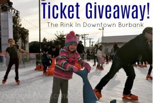 The Rink In Downtown Burbank Ice Skating