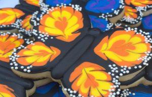 Royal Icing Designs Monarch Butterflies