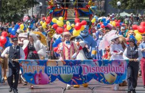 Happy 64th Birthday Disneyland Parade