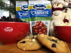 Ocean Spray Craisin Cookies