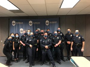 Boy scouts burbank make masks