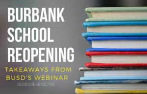 Burbank School Reopening