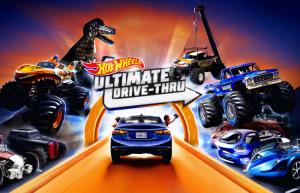 Hot Wheels Ultimate Drive thru